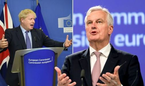 'EU is DESPERATE!' Brexiteers mock 'bully' Barnier's threats and urge Boris to stand firm