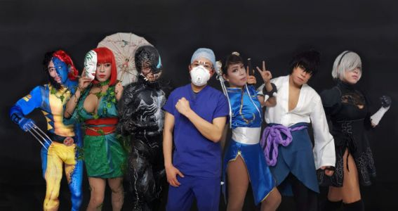 Cosplayer and Nurse: Behind the Front Lines of Coronavirus
