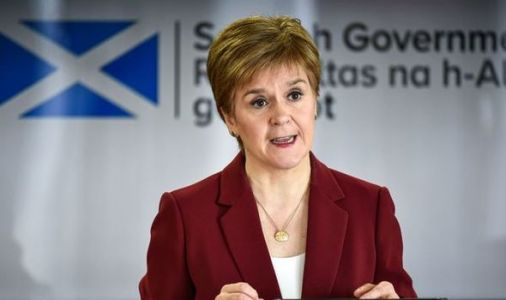 Nicola Sturgeon's coronavirus briefing brutally mocked by comedian in hilarious spoof