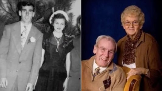 Wife died of broken heart moments after watching husband of 70 years succumb to cancer