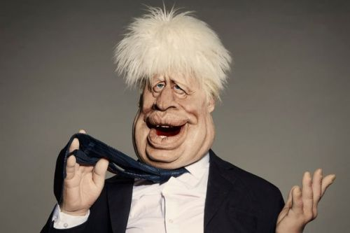 Prince Andrew and Boris Johnson get Spitting Image takedown in hilarious pics