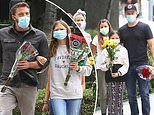 Ben Affleck reunites with Matt Damon along with their kids to bring flowers in honor Breonna Taylor