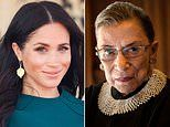 Meghan Markle calls RBG the Justice of Courage as she pays tribute to the SCOTUS icon