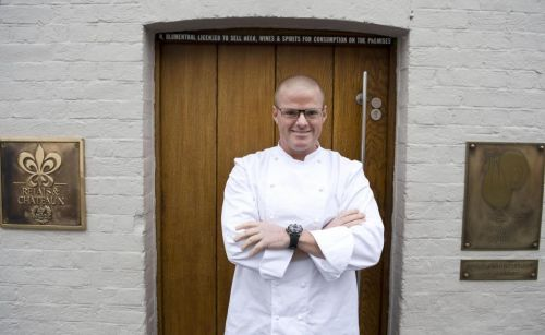 Heston Blumenthal doesn't want us taking pictures of our food - I'm doing it anyway