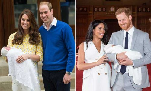 The cutest royal baby moments caught on camera - watch video