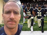 Drew Brees issues ANOTHER apology after reiterating his objection to NFL players kneeling in protest