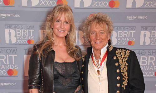 Rod Stewart and Penny Lancaster dazzle on date night at the BRITs