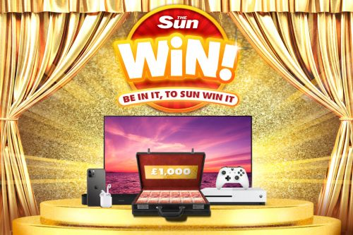 Sun Win: You could WIN a £3,500 tech and cash prize to kit out your home