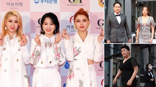 Parasite wins big at Grand Bell Awards as 3Ye hit red carpet in South Korea