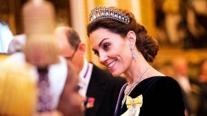 Kate Middleton just wore Princess Diana's iconic tiara for a party at the palace