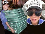 Lady Gaga delivers pizza to wildfire evacuation shelter in California on World Kindness Day