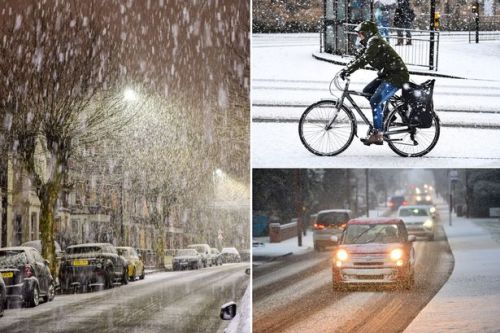UK weather forecast: More SNOW as dangerous black ice causes travel chaos