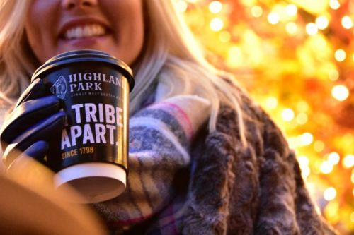 Edinburgh roof terrace with amazing castle views unveils cosy takeover with Highland Park whisky