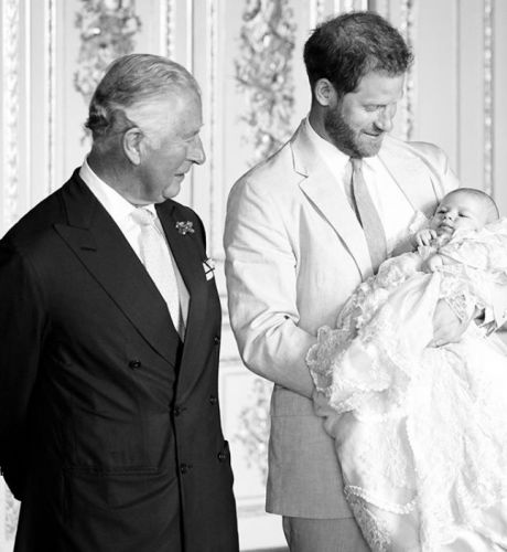 New photo of Archie with 'Grandpa' leads royal birthday celebrations for the Prince of Wales