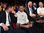 Cristiano Ronaldo reminisces about battles with rival Lionel Messi during UEFA award ceremony