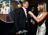 Brad Pitt 'blissfully naive' to excitement over his backstage reunion with ex-wife Jennifer Aniston