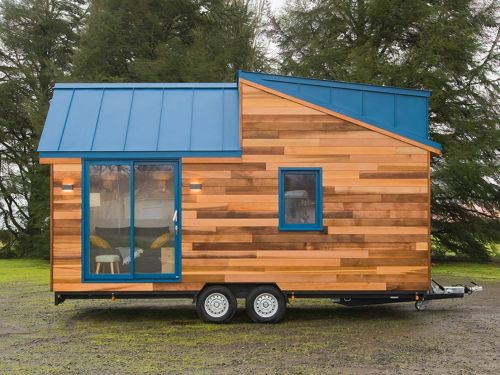 The 'Mogote' is a $87,500 lofted tiny home on wheels that can sleep up to 4 people - see inside