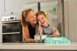 Helen Burgess, Founder of Little Cooks Co, the UK's first healthy cooking kit for children