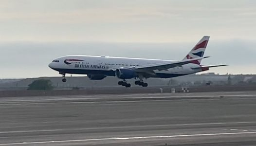 Video: British Airways rescue flight from Lima, Peru