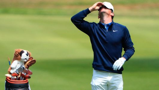 McIlroy's PGA Championship hopes hit the buffers after horror third round finish leaves him well off pace