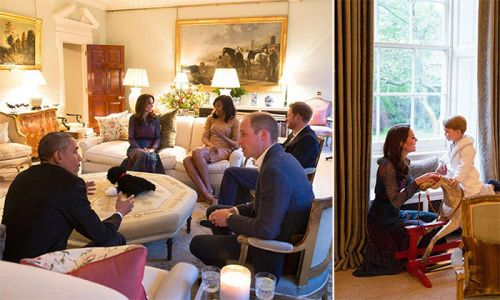 Prince William and Kate Middleton's stunning living room unveiled: take a tour