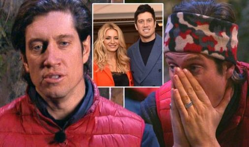 Vernon Kay left emotional as wife Tess Daly sends adorable message to I'm a Celebrity camp
