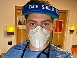 Dr Alex George is praised for working on the NHS frontline while his stars live it up in Dubai