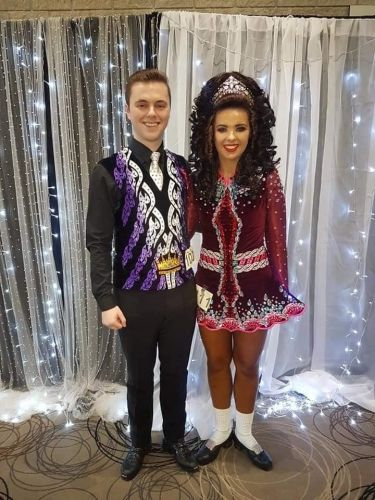 Elite Irish dancer diagnosed with agonising incurable illness battles to complete final competition