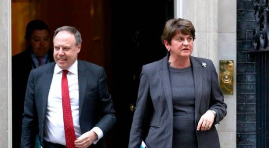 Brexit: Foster dismisses as 'nonsense' claims DUP accepts proposal on Stormont consent