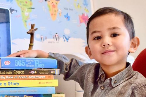 Genius boy, 3, becomes youngest member of Mensa UK after scoring 142 on IQ test