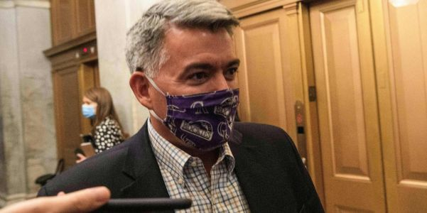 Colorado Sen. Cory Gardner received $24,000 in PAC donations from a meatpacking corporation. He's largely remained quiet about the company's record-setting coronavirus outbreak