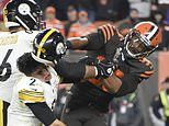 Cleveland Browns defensive end Myles Garrett banned indefinitely without pay after helmet assault
