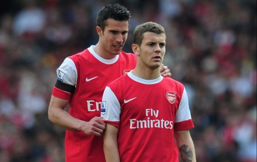 How Jack Wilshere reacted to Arsenal selling Robin van Persie to Manchester United