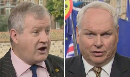 'Forked-tongued' Blackford squirms as Brexit 'paradox' at core of independence bid exposed