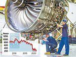 Rolls-Royce shares dip to lowest level for more than decade