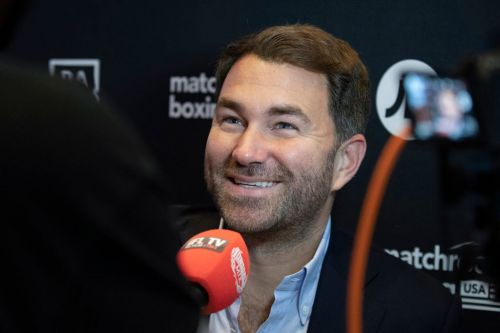 Eddie Hearn has 'funny feeling' Deontay Wilder won't be ready to fight Tyson Fury this year