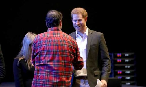 Prince Harry makes first public appearance in Edinburgh as he carries out final royal duties - best photos
