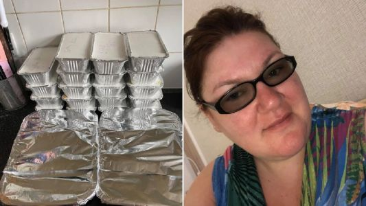 Woman makes 26 meals for grandparents in lockdown for just £20