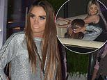 Katie Price, 41, appears worse-for-wear on ANOTHER wild night out with Chloe Ferry, 24