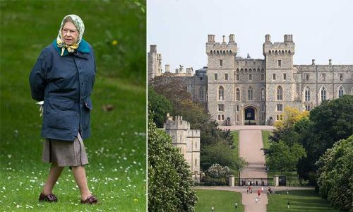 The Queen shares video tour of private garden at home inside Windsor Castle