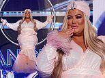 Gemma Collins RETURNS to Dancing On Ice by being lowered onto the rink in a diamond hoop