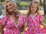 Married At First Sight expert Mel Schilling and her mini-me daughter wear matching dresses