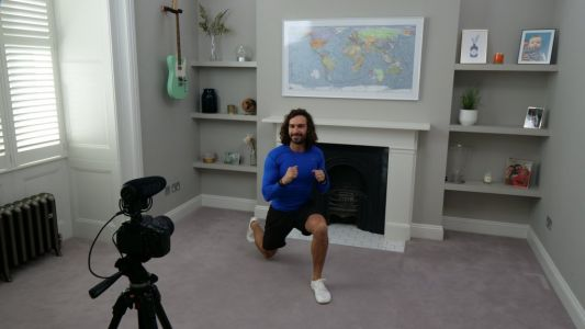 Joe Wicks will donate all money made from home workout videos to NHS as he thanks 'the real heroes'
