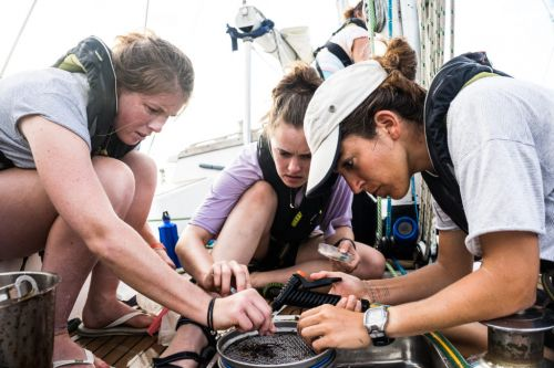 Empowering women in the workplace and at sea