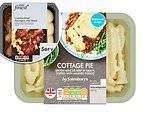 Supermarket own-brand premium ready meals have DOUBLE the amount of fat as the cheaper options