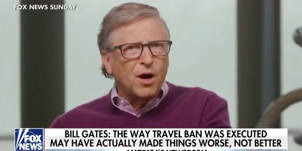 Trump's travel ban likely accelerated the spread of the coronavirus in the US, according to Bill Gates