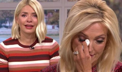 Holly Willoughby in tears as This Morning co-star reveals devastating domestic abuse story