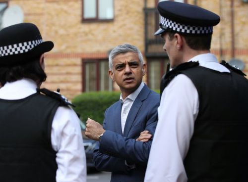 Sadiq Khan Points Out Massive Flaw In Government's New Pay Rises For Police Officers