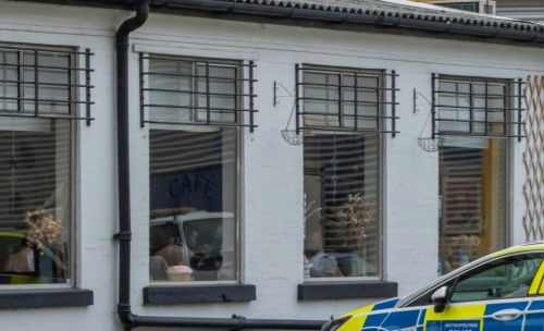 Police spotted 'breaking' lockdown rules with group breakfast inside café