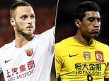 CSL stars Marko Arnautovic and Paulinho are LOCKED OUT of China due to coronavirus travel ban